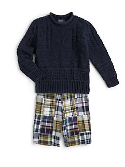 Ralph Lauren - Toddler's & Little Boy's Cotton Crewneck Sweater
