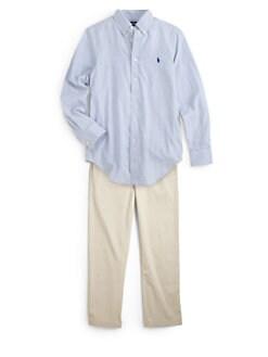 Ralph Lauren - Boy's Custom-Fit Check Shirt