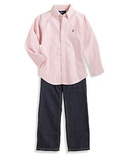 Ralph Lauren - Toddler's & Little Boy's Classic Oxford Shirt