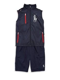 Ralph Lauren - Boy's Sporty Zip Vest