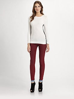 MICHAEL MICHAEL KORS - Colorblock Crewneck Sweater