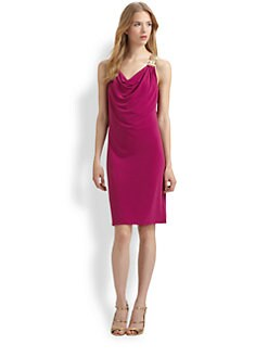 MICHAEL MICHAEL KORS - Mesh-Strap Dress