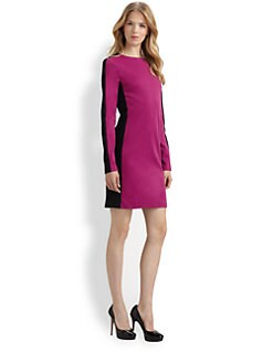 MICHAEL MICHAEL KORS - Colorblock Shift Dress