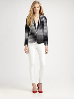 MICHAEL MICHAEL KORS - Striped Jacket