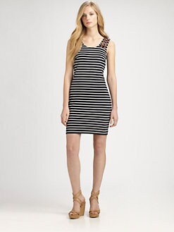 MICHAEL MICHAEL KORS - Striped Tank Dress