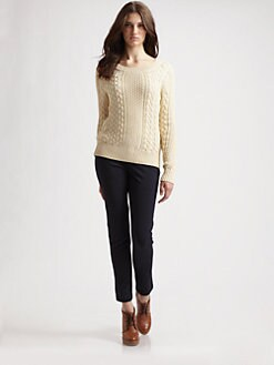 MICHAEL MICHAEL KORS - Fisherman Cable Sweater
