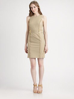 MICHAEL MICHAEL KORS - Double-Zipper Sheath Dress