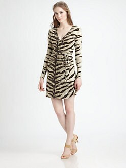 MICHAEL MICHAEL KORS - Leopard-Print Wrap Dress