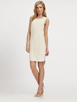 MICHAEL MICHAEL KORS - Laced-Detail Sheath
