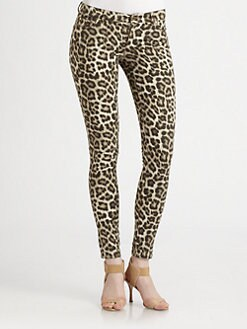 MICHAEL MICHAEL KORS - Savannah Leopard-Print Jeans