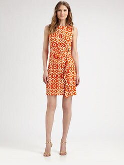 MICHAEL MICHAEL KORS - Printed Sheath Dress