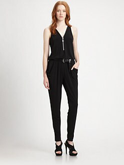 MICHAEL MICHAEL KORS - Zip-Front Jumpsuit