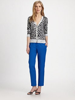 MICHAEL MICHAEL KORS - Zebra Inside-Out Sweater