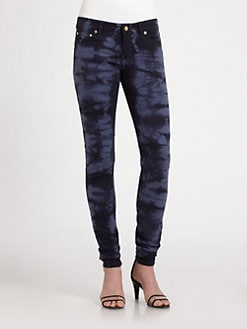 MICHAEL MICHAEL KORS - Midnight Tie-Dye Jeans
