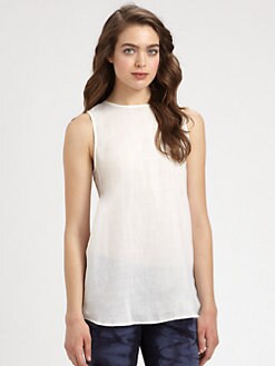 MICHAEL MICHAEL KORS - Draped-Back Tank Top