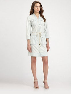 MICHAEL MICHAEL KORS - Lightweight Denim Shirtdress
