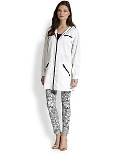 MICHAEL MICHAEL KORS - Hooded Twill Jacket