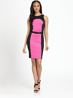 MICHAEL MICHAEL KORS - Cutout-Back Scuba Dress