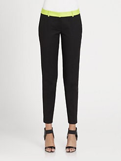 MICHAEL MICHAEL KORS - Neon-Waistband Pants