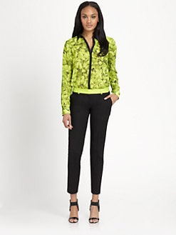 MICHAEL MICHAEL KORS - Scattered Hydrangea-Print Blouse