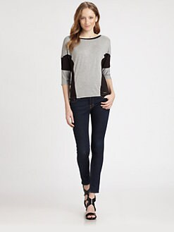 MICHAEL MICHAEL KORS - Colorblock Top