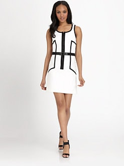 MICHAEL MICHAEL KORS - Contrasting Sheath Dress