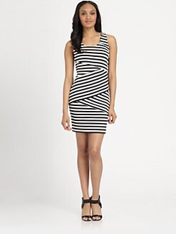 MICHAEL MICHAEL KORS - Fulham Stripe Dress