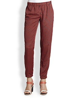 MICHAEL MICHAEL KORS - Diamond-Print Track Pants