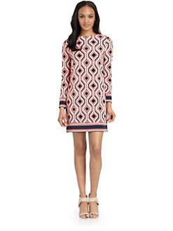 MICHAEL MICHAEL KORS - Argyle-Print Dress