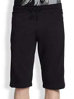 McQ Alexander McQueen - Zipped Sweat Shorts