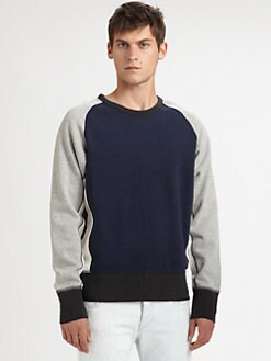 Rag & Bone - Colorblock Racer Sweatshirt