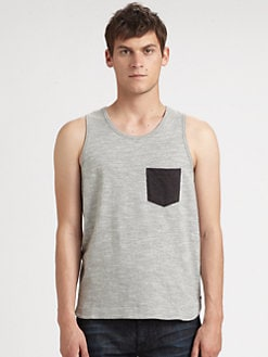 Rag & Bone - Colorblock Pocket Tank