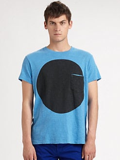 Rag & Bone - Circle Pocket Tee