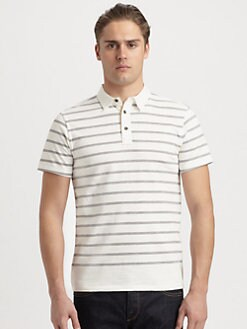 Rag & Bone - Moulinex Striped Polo
