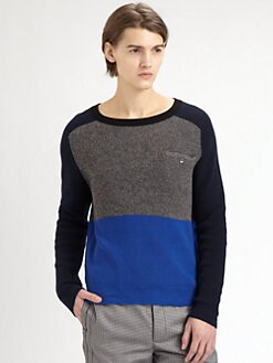 Yigal Azrouel - Block Knit Sweater