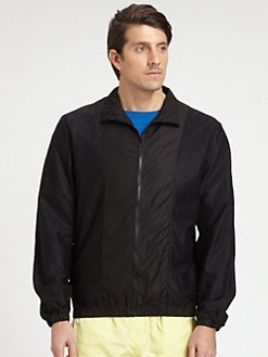T by Alexander Wang - Mesh-Paneled Jacket
