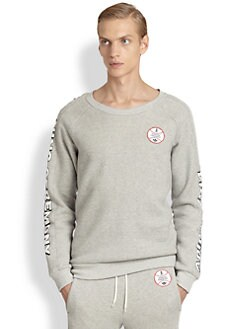adidas Originals x Opening Ceremony - Baseball Patch Crewneck Sweatshirt