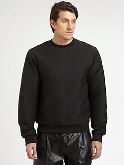 T by Alexander Wang - Textured Sweatshirt