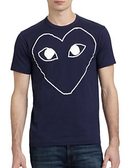 Comme des Garcons Play - Graphic Cotton Tee