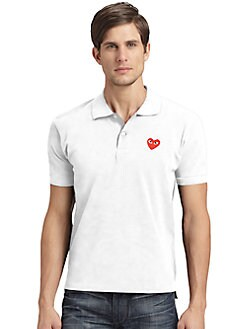 Comme des Garcons Play - Cotton Polo