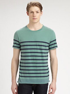 Rag & Bone - Dean Striped Tee
