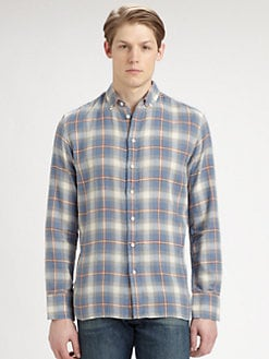 Rag & Bone - Plaid Oxford Sportshirt