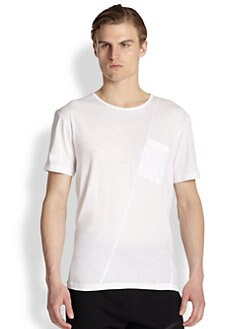 McQ Alexander McQueen - Asymmetrical Pocket Tee