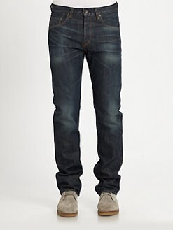 Rag & Bone - Classic Slim-Straight Leg Jeans