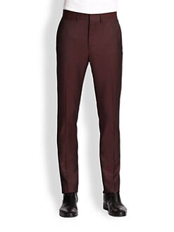 McQ Alexander McQueen - Slim-Fit Wool & Mohair Pants