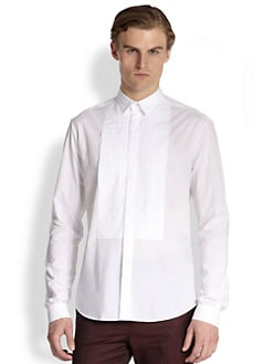 McQ Alexander McQueen - Cotton Tuxedo Shirt