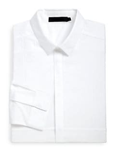 Alexander Wang - Cotton Woven Dress Shirt