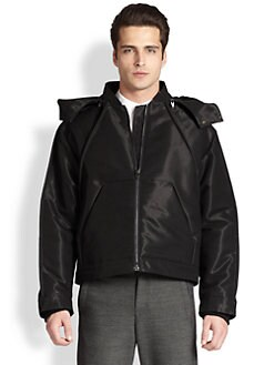 Alexander Wang - Shiny Hooded Jacket