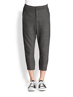 Alexander Wang - Button-Detail Trousers