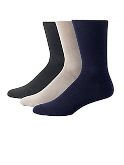 Saks Fifth Avenue Men's Collection - Cotton Knit Socks